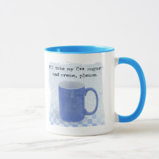 C++ Sugar and Cream Mug