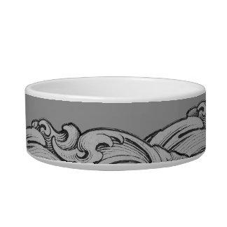 C - The Falck Alphabet (Silvery) Bowl