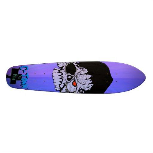 C-Town 901 Pine Skull Design #7 Skateboards