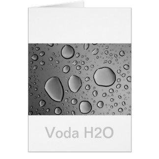 (C) Voda H2O Custom Design Card
