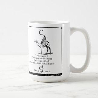 C was a camel coffee mug