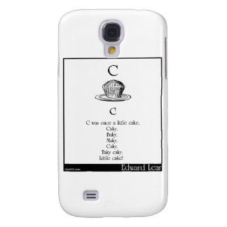 C was once a little cake galaxy s4 cases