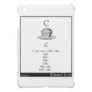 C was once a little cake iPad mini cases