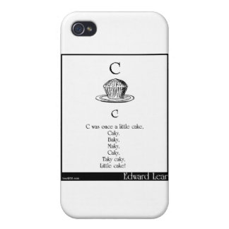 C was once a little cake iPhone 4/4S cases