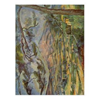 C?zanne, Paul Mont Sainte-Victoire 1885-1887 Techn Postcard