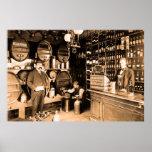 ca 1895 Stephan Liesting liquor store Holland Poster