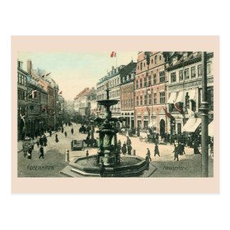 ca 1905 Copenhagen Amagertorv Postcard