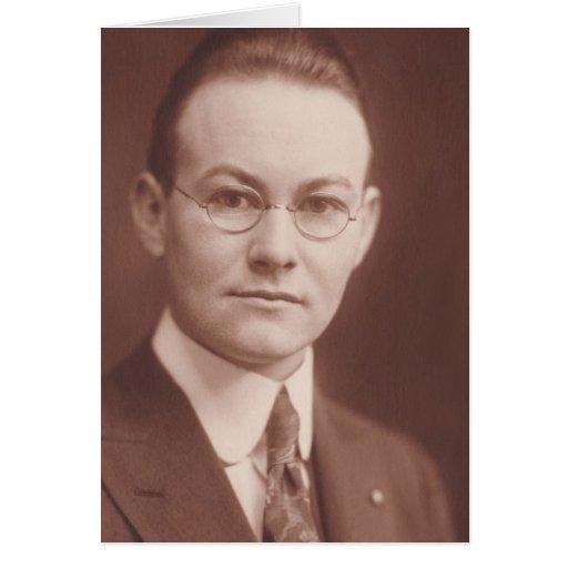 ca.1925 tarjeta de felicitación