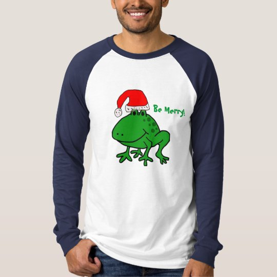 CA- Be Merry! Frog shirt