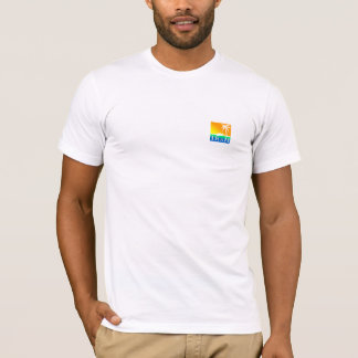 CA - Blue Lava Wave T-Shirt