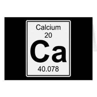 Ca - Calcium Card