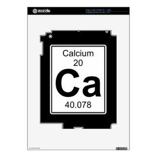 Ca - Calcium Decal For iPad 2