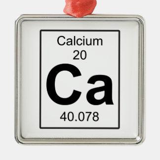 Ca - Calcium Metal Ornament
