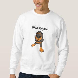 CA camisa del perrito del imán del bebé