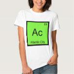 CA - Camiseta del símbolo del elemento de la Polera