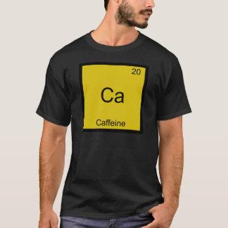 Ca - Camiseta divertida del símbolo del elemento