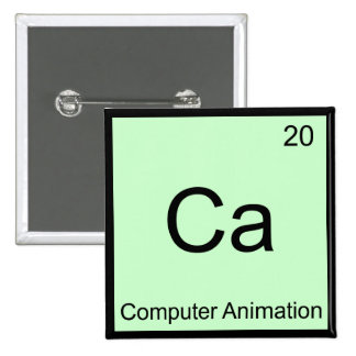Ca - Computer Animation Funny Chemistry Element T Button