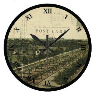 CA - Coronado, California Post Card Clock - 1907