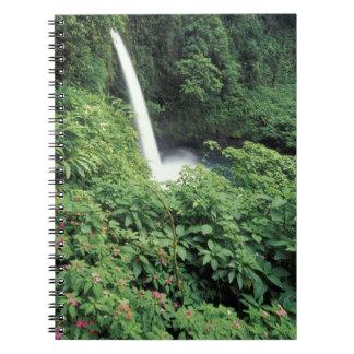 CA Costa Rica Cascada e impatients de La Paz Libros De Apuntes