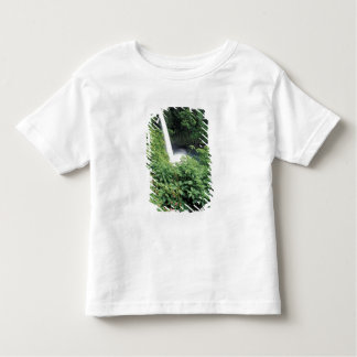 CA, Costa Rica. La Paz waterfall and impatients Toddler T-shirt