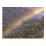 CA, Costa Rica, near Guacimal. Rainbow over Post Cards