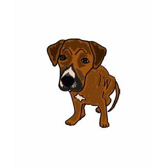 CA- Cute Cartoon Puppy Dog Shirt