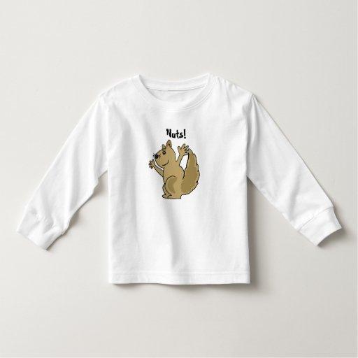 CA- Cute Cartoon Squirrel Shirt