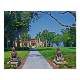 Ca d'Zan  Mansion, Sarasota, FL, Print