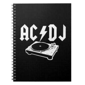 CA DJ LIBRO DE APUNTES CON ESPIRAL
