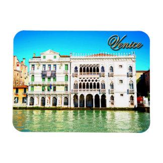 Ca' D'Oro Palace Rectangular Photo Magnet