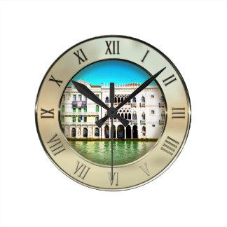 Ca' D'Oro Palace Round Clock