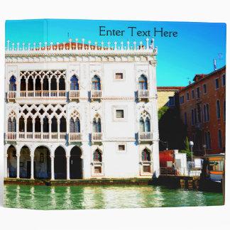 Ca' D'Oro, Venice, Italy Binder