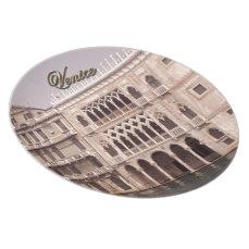 Ca' D'Oro - Venice, Italy Dinner Plate
