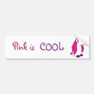 CA el rosa es pegatina para el parachoques fresca  Pegatina Para Auto
