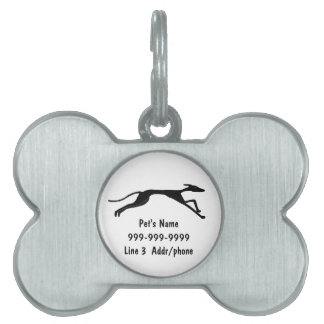 CA etiqueta o llavero del mascota del arte del gal Placas De Mascota