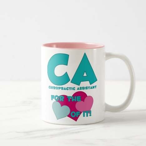 CA For The Love of It Mug