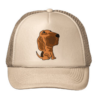 CA- Funny Bloodhound Hat