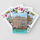 Ca' Giustinian and Palazzo Bauer Bicycle Playing Cards