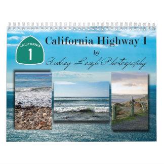 CA Hwy 1 calendario