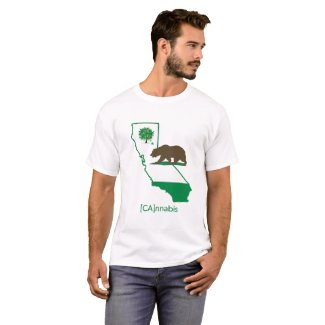 [CA]nnabis by InstaTree USA T-Shirt