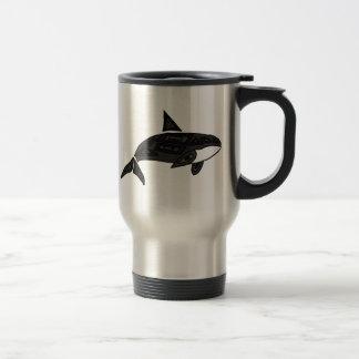 CA orca artística Taza Térmica