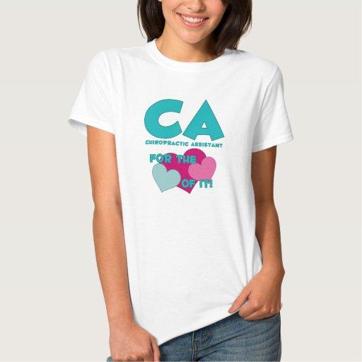 CA para el amor de él camiseta Polera
