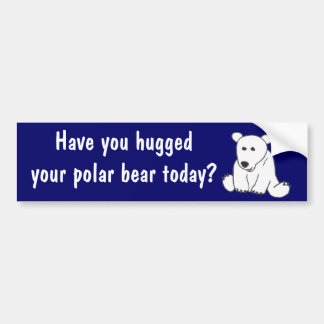 CA pegatina para el parachoques del abrazo del oso Pegatina Para Auto