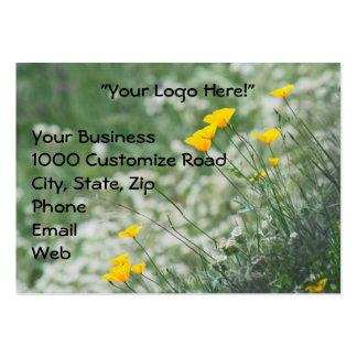 CA. Poppy Business Card