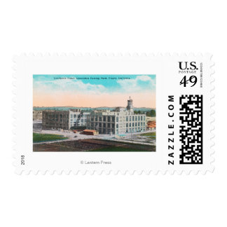 CA Raisin Association Packing Plant Postage Stamps