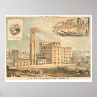 CA Refinería de azúcar (1192A) Póster