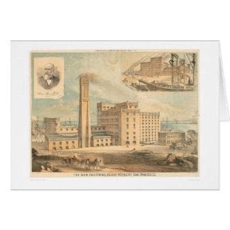 CA Refinería de azúcar (1192A) Tarjeta De Felicitación