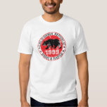 CA REpublic born and raised in 1999 T-shirt