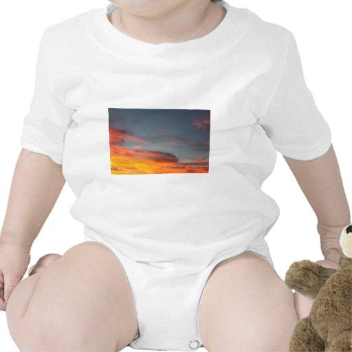 CA septentrional que iguala el cielo… Traje De Bebé
