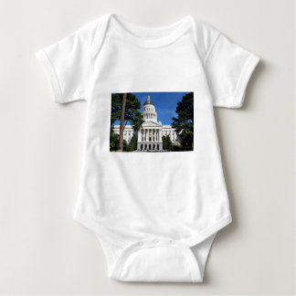 CA state capitol building - Sacramento Baby Bodysuit